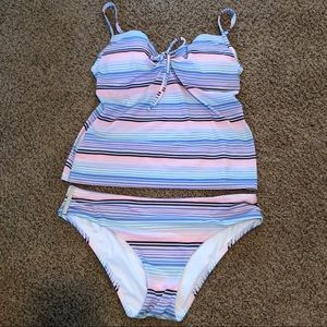 💕 Adorable Victoria's Secret Tankini Set 34C/M 💕